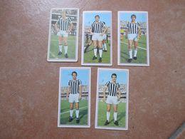 Figurine PANINI Calciatori 1970 1971 Squadra JUVENTUS N. 5 Differenti Anastasi Haller Ecc. - Italiaanse Uitgave