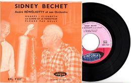 EP SYDNEY BECHET QUI JOUE GEORGES BRASSENS ET DJANGO REINHARDT - 1955 - BON ETAT - PROMO FRAIS D'ENVOI - - Instrumental