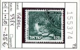 Israel - Michel 598x - Oo Oblit. Used Gebruikt - Israel