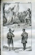 Stampa Incisione Costumi Europa Francia Pietro D' Amiens Crociati - Estampas & Grabados