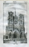 Stampa Incisione Costumi Europa Francia Notre Dame - Estampas & Grabados