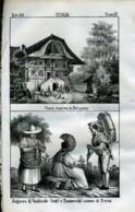 Stampa Incisione Costumi Europa Svizzera Berna - Estampas & Grabados