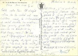 ( POLYNESIE  FRANCAISE )ILE DE UA POU AUX  ILES MARQUISES - Polynésie Française