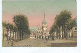 Nivelles Palais De Justice Et Place St Paul - Nivelles