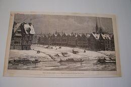 PARIS   - Place De Grève  D'après Le Missel De Juvénal Des Ursins  -  F . HOFFBAUER  Illustrateur - Litografía