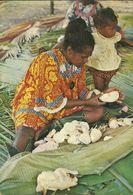 (VANUATU )  LA PREPARATION DU BOUGNA - Vanuatu