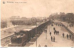 520) Winterslag - Arrivée Du Train Ouvrier - Genk