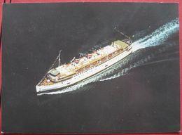 Flugaufnahme TEV Princess Marguerite - British Columbia Steamship Company - Paquebots