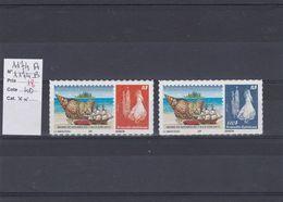 Timbres Personnalisés Adhésifs NOUVELLE CALEDONIE  N° 1174 A Et 11174B Avec Logo Cagou . Rares . Petits Tirages - Unused Stamps