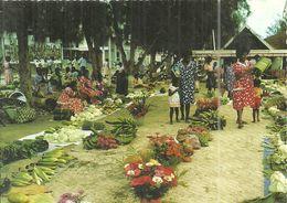 (VANUATU )  ( VILA ) TYPICAL MARKET - Vanuatu
