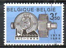 BELGIQUE. N°1516 De 1969 Oblitéré. Crédit à L'industrie. - Belgium