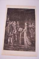 HENRI  IV  - MARIE  DE  MEDISIS  - Laplante  Graveur - Leyendecker  Illustrateur - Litografía