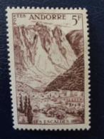1955-58 ANDORE FRANCAIS Y&T N° 141 ** - PAYSAGE - Nuovi