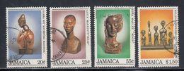 Jamaica, Scott #587-590, Used, Christmas, Issued 1984 - Jamaique (1962-...)
