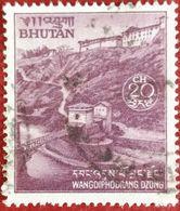 110. BHUTAN (20CH) USED STAMP WANGDIPHODRANG DZONG  . - Bhoutan