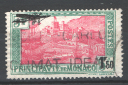 Monaco 1933 Unif. A1 O/Used VF/F - Poste Aérienne