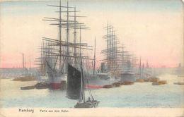 Hamburg Partie Aus Dem Hafen Schiff, Harbour Bateaux Port - Sonstige