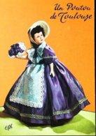 Carte Postale Poupée Doll  Un Poutou De Toulouse - Dolls