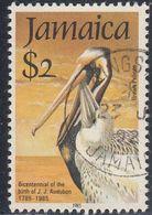 Jamaica, Scott #597, Used, Pelicans, Issued 1985 - Jamaique (1962-...)