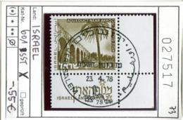 Israel - Michel 601x  - Oo Oblit. Used Gebruikt - Usados (con Tab)