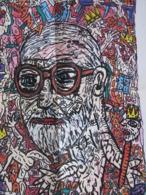 Affiche Globe  50ème Anniversaire De La Mort De Freud Par Combas - Manifesti