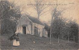 39 - CPA RAHON Chapelle Miraculeuse Vieille Femme Ramasse Du Bois Mort - Villers Farlay
