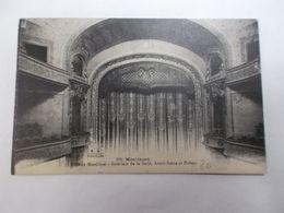 Théatre Municipal Interieur De La Salle Avant Scène Et Rideau - Montlucon