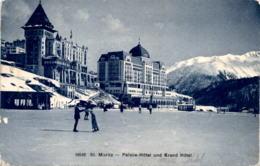 St. Moritz - Palace-Hotel Und Grand Hotel (16546) - GR Grisons
