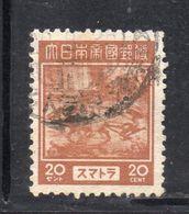 W192 - INDONESIA OCCUPAZIONE GIAPPONESE, Un Valore Usato Emesso Nel 1943 - Indonesia