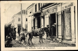 Cp Serbien, Serbischer Laden Als Pferdestall - Serbie