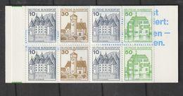 Bundesrepublik Deutschland / 1992 / Markenheftchen Mi. 22II Am K1 MZ (mit Zaehlbalken) ** (CA96) - Markenheftchen