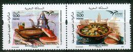 MOROCCO MAROC MAROKKO 2020 LA GASTRONOMIE TRADITIONNELLE MÉDITERRANÉENNE 2020 - Morocco (1956-...)