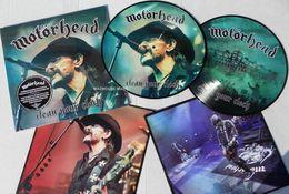 Motorhead - X2 33t Picture Disc - Clean Your Clock - Neuf & Scellé - Hard Rock & Metal