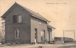 02 - CPA SEBONCOURT La Gare - Sonstige Gemeinden