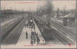 Pont Marcadet , Arrivée D'un Train De Ceinture , Animée - Metropolitana, Stazioni