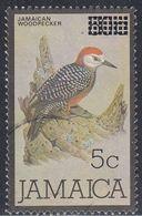 Jamaica, Scott #665, Used, Bird Surcharged, Issued 1986 - Jamaica (1962-...)