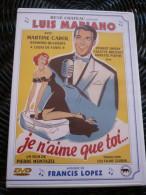 Je N'aime Que Toi...(Pierre Montazel-Luis Mariano)/ DVD Simple René Château - Musicalkomedie