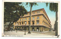 XW 3158 Panama City - Hotel Central / Non Viaggiata - Panamá