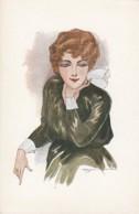 Bonora Artist Signed Image Fashion,  Glamour Theme C1920s Vintage Series N.156 Postcard - Illustratori & Fotografie