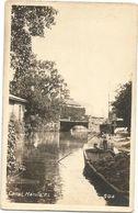 XW 3159 Philippines - Manila - Canal / Non Viaggiata - Filipinas