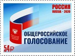 Russia 2020 Russian Constitutional Referendum 1v MNH - Ungebraucht