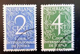 Cour International Justice D25 D26 CW € 20.00 - Dienstpost