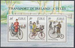 Ireland 1991 - Transport In Ireland: Bicycles - Miniature Sheet Block 8 (746-748) ** MNH - Wielrennen