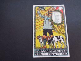 Illustrateur ( 2218 )   Erwin Puchinger  Wien 1910 - Carte Viennoise -  Jagd  Jacht  Chasse   Chien  Hond - Illustratori & Fotografie