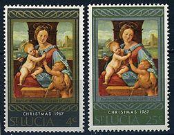 SANTA LUCIA 1967 - NAVIDAD - NOEL - CHRISTMAS - YVERT Nº 225/226** - St.Lucia (1979-...)