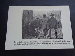 Illustrateur ( 2231 )  ????    Anti - Militaristische Postkaart -  Soldat Soldaat - Illustratori & Fotografie
