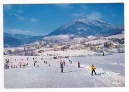38 Le Sappey En Chartreuse Vers Grenoble Vue Générale Et Le Coin Des Enfants Ski Skieurs En 1988 - Grenoble