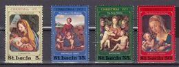 SANTA LUCIA 1973 - NAVIDAD - NOEL - CHRISTMAS - YVERT Nº 343/346** - St.Lucia (1979-...)