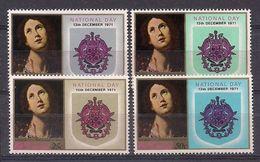SANTA LUCIA 1971 - NATIONAL DAY - YVERT Nº 306/309** - St.Lucia (1979-...)