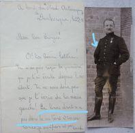 Documents + Photos + Courriers ABL Grenadier Amputé Suite Bataille De Yser Ijser Belgische Leger 1914-18 WW1 Armée Belge - Guerre, Militaire